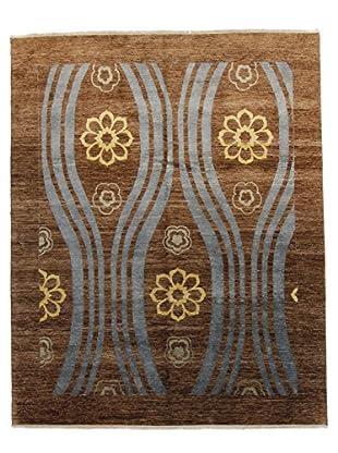 F.J. Kashanian Mosa Hand-Knotted Rug, Mocha, 8' x 10'