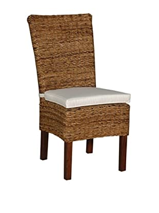 Jeffan Small Astor Abaca Farra Chair, Natural