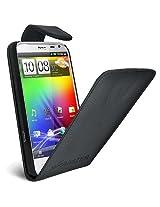 Amzer AMZ93491 Flip Case for HTC Sensation XL (Black)