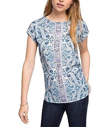 Esprit Camiseta Manga Corta Azul M