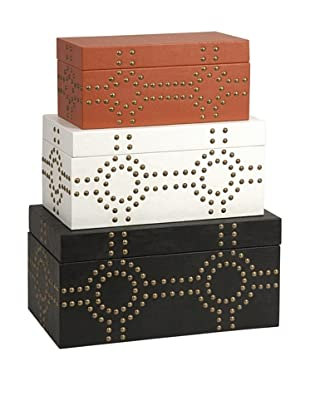 Set of 3 Jordan Studded Boxes