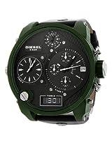 Diesel Sba Green Chronograph Mens Watch Dz7250