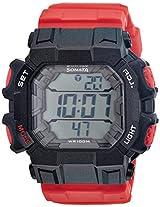 Sonata Ocean Series III Digital Multi-Color Dial Men's Watch - 77025PP02J