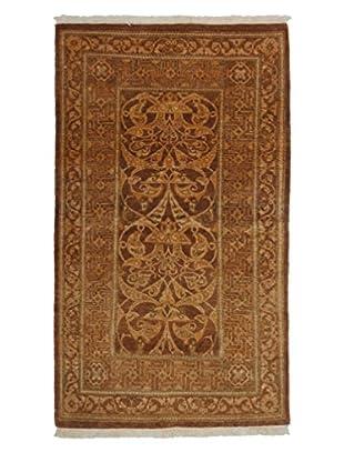 Darya Rugs Mogul Oriental Rug, Brown, 2' 7