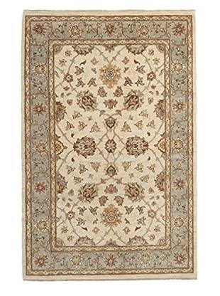 Darya Rugs Oushak Oriental Rug, Ivory, 4' 1
