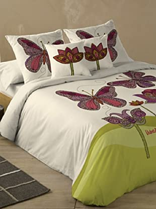 Juego de Funda Nórdica Butterfly (Multicolor)