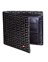 Tommy Hilfiger Brown Leather Men Wallet T056761