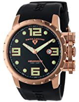 Swiss Legend Men's 30021-RG-01 Ambassador Black/Rose Watch