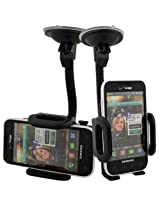 Samsung Fascinate (Verizon) Car Windshield Dash Mount Cradle Holder Kit SCH-i500 Galaxy S