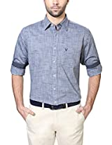 Allen Solly Greyish Blue Shirt