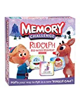 Memory Challenge Rudolph The Red-Nosed Reindeer Edition
