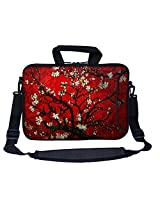 Meffort Inc 13 13.3 Inch Neoprene Laptop Bag Sleeve- Vincent Van Gogh Cherry Blossoming