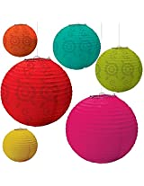 Fiesta Paper Lantern Value Pack Party Accessory