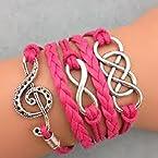Music Love Infinity Dream Bracelet