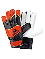 Adidas Pred without Fingersave Goalkeeper Gloves, Junior Size 4 (Infred/Black/Neonor)