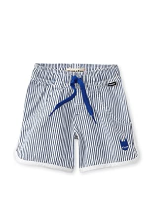 Munster Kid's Runts Shorts (Navy Stripe)