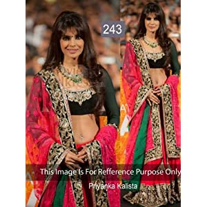 PRIYANKA CHOPRA IN DESIGNER PINK LEHENGA CHOLI AT PROMOTION OF FILM BARFI