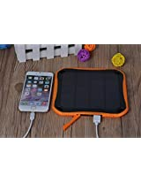 Solar mobile charger 5600mAh High Efficient and waterproof Solar Power bank