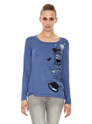 Sidecar Camiseta Marina (Azul)