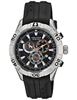 Nautica Chronograph Black Dial Men's Watch - NTA18625G