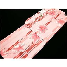 【浴衣単品】◆衿芯付なので安心◆ピンク系 299