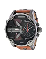 Diesel Mr. Daddy 2.0 Black Dial Quartz Men's Watch -DZ7332