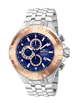 Invicta 12355 - Reloj de Caballero cuarzo metálico Plata