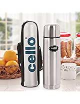 CELLO THERMOSTEEL VACUUM FLASK LIFESTYLE 1000 ML