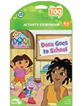 LeapFrog Tag Junior Software Dora Goes to School New