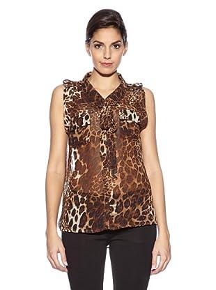 Love U Bluse Nina (Leopard)