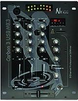 NX Audio CARBON3USBMK3 DJ Mixer 3Ch