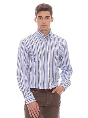 Gant Camisa Rayas (marrón)