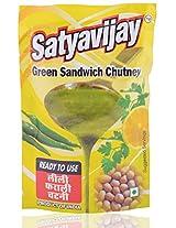 Satyavijay Ready to Use Green Sandwich Chutney - 100 gram