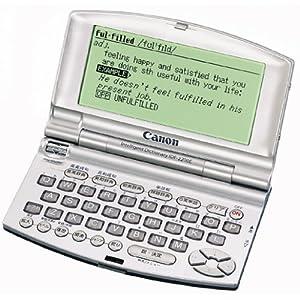 CANON wordtank IDF-2200E (5コンテンツ, 英語モデル, コンパクトサイズ)