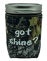 Jar-z GotShineTCamoP Mason Jar Jacket, 1 pint, Tree Camo