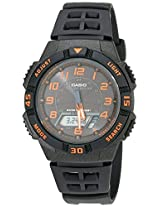 Casio Youth World-time Analog-digital Black Dial Men's Watch - AQ-S800W-1B2VDF (AD167)