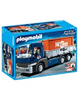 Playmobil Cargo Truck with Container, Multi Color