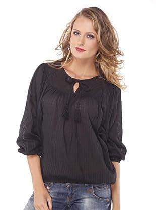Santa Bárbara Camisa Laze (Negro)