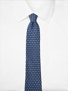 Hermès Men's Dots Tie, Blue, One Size