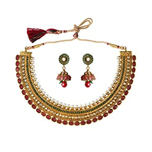 XGOLD Urvi Royal Gold Polki Necklace For Women
