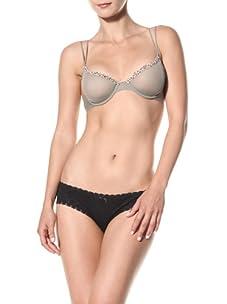 Cosabella Women's Celine Molded Bra (Vetiver/Leopard)