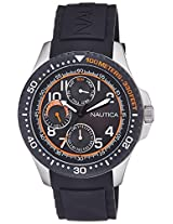 Nautica Analog Black Dial Men's Watch  - NTA13685G