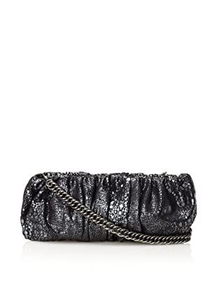 Inge Christopher Women's Emma Facile Clutch (Black/Pewter)