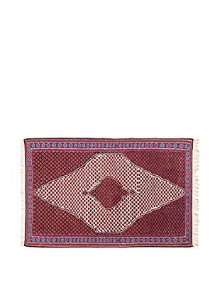 RugSense Alfombra Persian Senneh Rojo/Beige/Blanco 167 x 112 cm