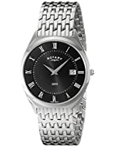Rotary Ultra Slim Mens Date Display Watch - GB08000-04