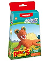 Paulinda 072493-2 Modeling Foam Dinos Return, Multi Color