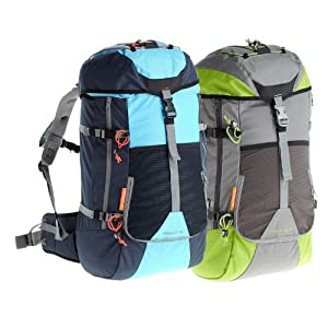 Quechua Hiking Backpack-Blue/Green