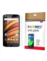 Rainbow Original Anti Glare Protector Screen Guard for Motorola Moto X Force