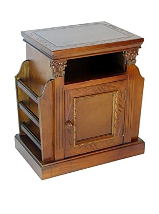 Charleston Trison Magazine Cabinet, Honey Brown