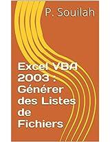 Guide Pratique Macros VBA : Générer des Listes de Fichiers avec Excel
